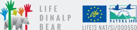 Logotip Life Dinalp Bear